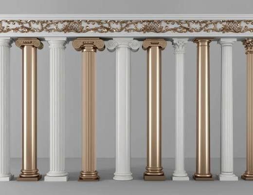 罗马柱, 罗马柱组合