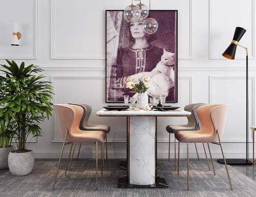 現代餐桌, 餐桌, 餐桌椅, 桌椅組合