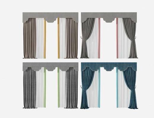 窗帘, 新中式窗帘