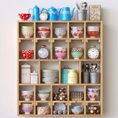 碗碟, 餐具, 摆件