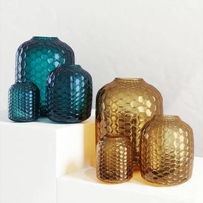 陶瓷器皿, 现代器皿, 玻璃器皿, 器皿摆件, 摆件, 现代摆件, 现代