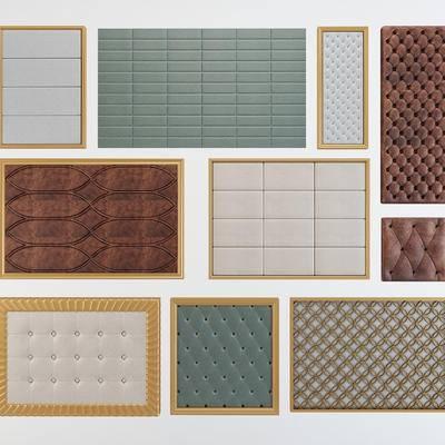 软包, 硬包, 装饰墙