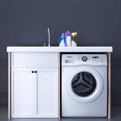 洗衣机, 摆件, 现代