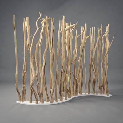 屏风, 树枝枯枝, 现代