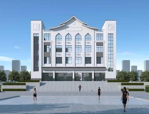 办公楼, 建筑, 综合楼, 商业办公楼, 综合服务楼