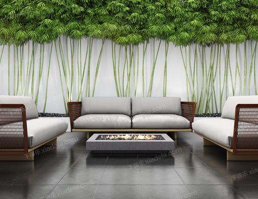沙发组合, 沙发茶几组合, 多人沙发, 现代沙发, 北欧沙发
