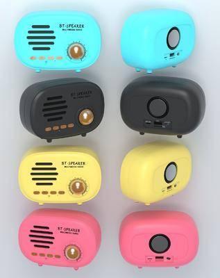 现代, 收音机, 单体