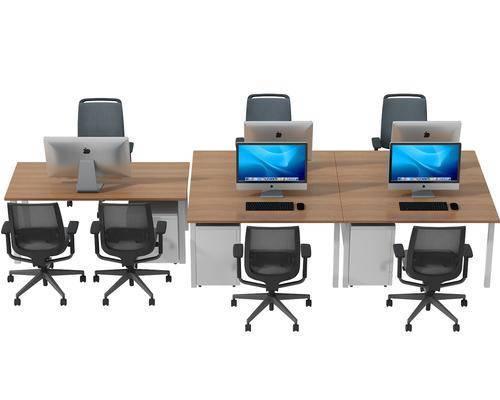办公桌, 办公椅, 现代