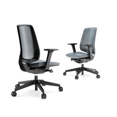 现代, 办公椅, 皮革, 椅子