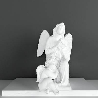 石膏雕塑, 雕塑雕刻, 北欧
