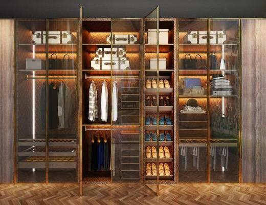 衣柜, 服饰, 现代轻奢
