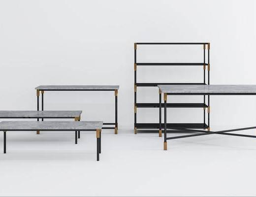 现代餐桌, 茶几, 桌子, 餐桌, 装饰架