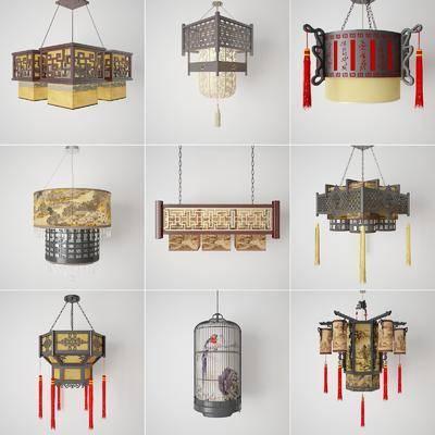 中式吊燈, 吊燈