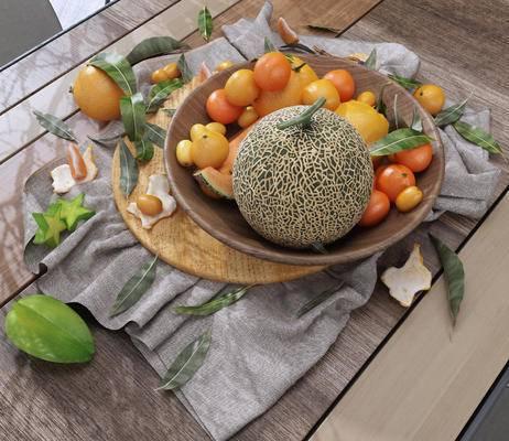 水果, 果盘