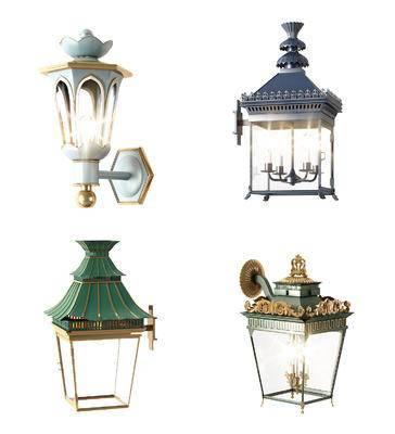 壁灯, 欧式壁灯, 壁灯组合