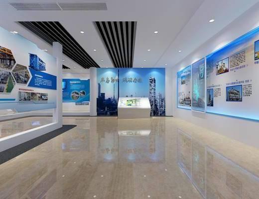 科技展廳, 展覽展廳, 現代