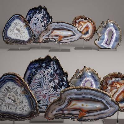 现代创意石头摆件, 现代, 摆件, 石头摆件, 现代摆件