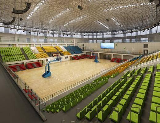 体育馆, 球场, 单人椅, 现代