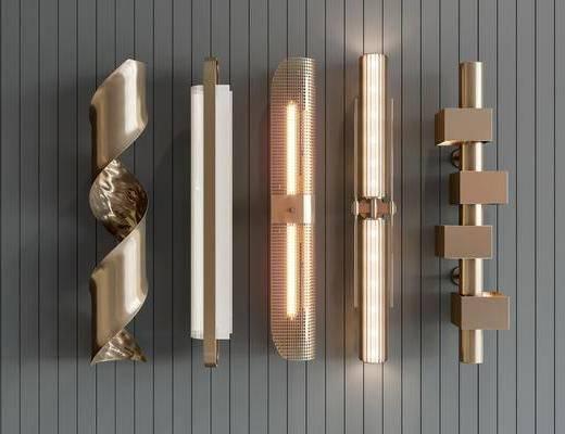 现代, 轻奢, 壁灯, 灯具