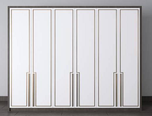 實木衣柜, 現代