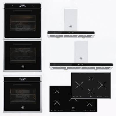 烤箱, 抽油烟机, 电器, 现代