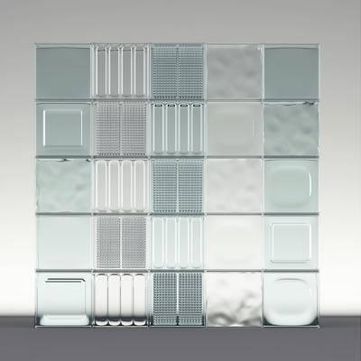 玻璃砖, 现代