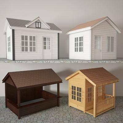 木屋, 移动房, 售货亭, 传达室, 门卫室, 岗亭, 治安室