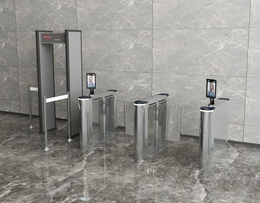 现代大堂安检闸机