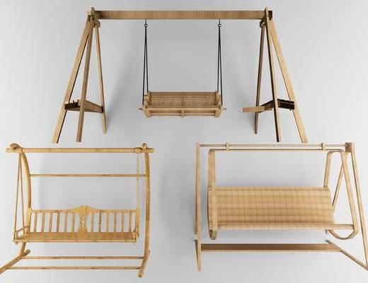 秋千椅, 椅, 户外椅, 摇椅, 现代