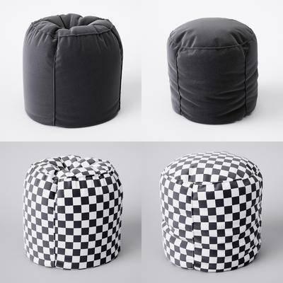 现代沙发凳组合, 现代, 凳子, 布艺