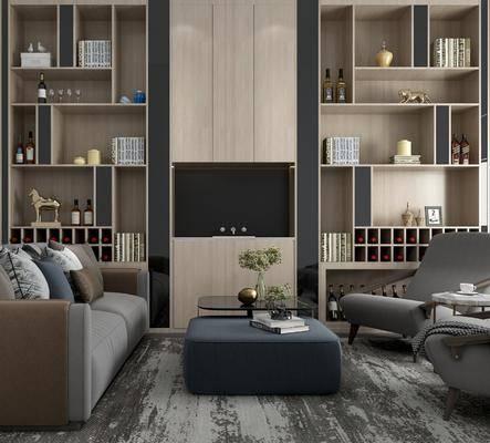 沙发组合, 现代沙发茶几组合, 沙发茶几组合, 现代沙发
