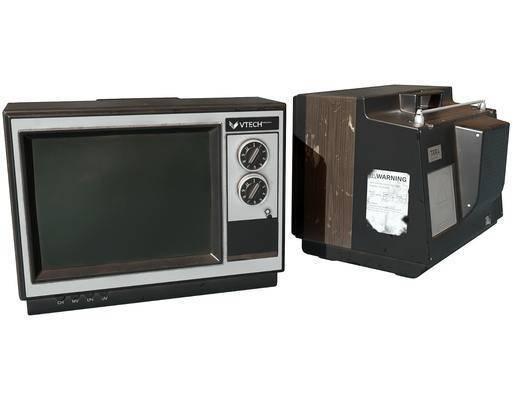 现代, 老式电视机, 单体