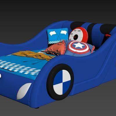 现代, 汽车床, 玩具床, 床, 汽车, 抱枕