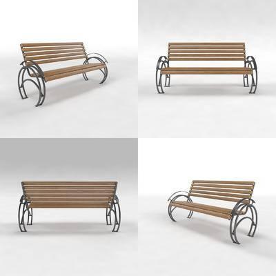 户外椅, 长凳