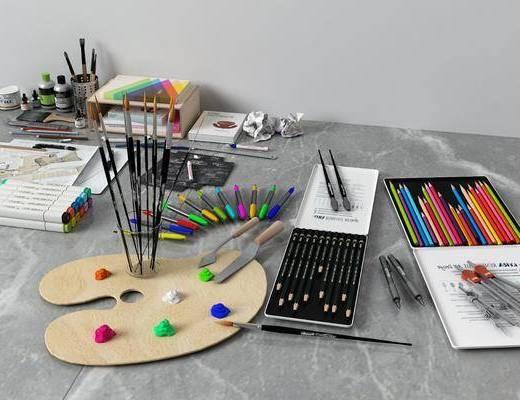 画笔涂料, 现代
