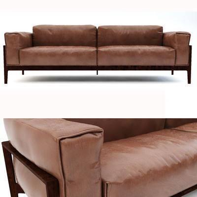 现代双人沙发, 现代沙发, 现代, 沙发