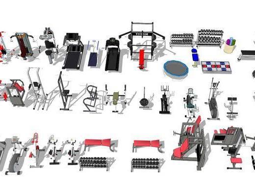 健身器械, 器材组合
