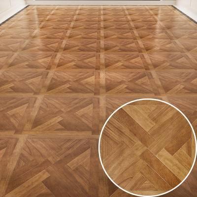 木拼花, 木板