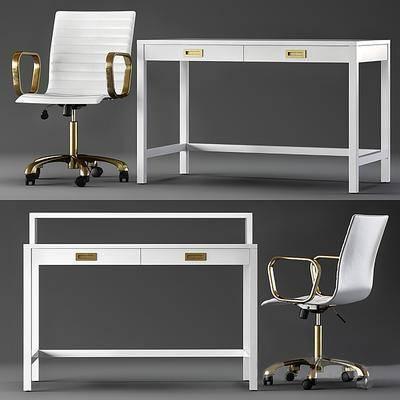 办公椅, 桌椅组合, 单椅, 办公桌