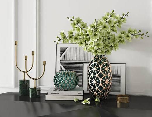 现代摆件, 装饰品, 花瓶