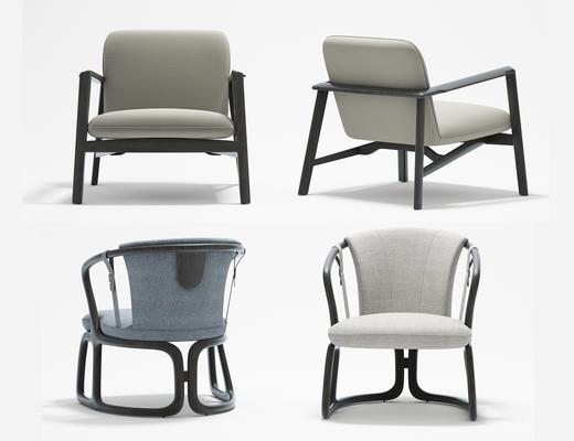休闲椅, 餐椅, 单人椅