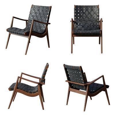 休闲椅, 单椅, 椅子, 现代