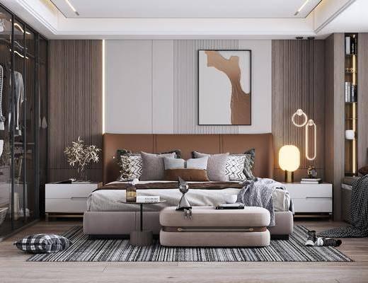 现代卧室, 家装