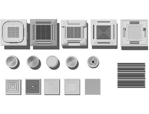 现代, 空调, 排气扇