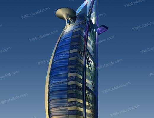 酒店, 帆船, 帆船酒店, 建筑