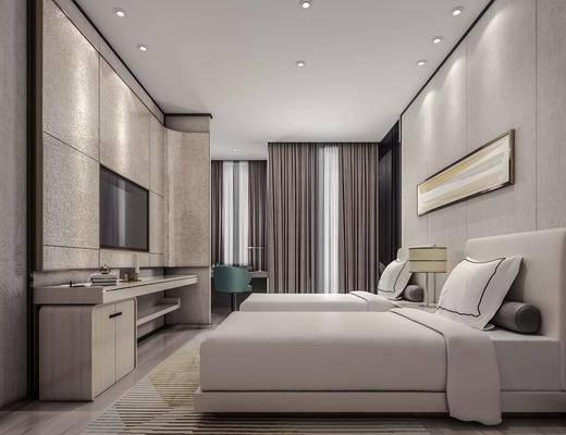 酒店客房, 客房, 酒店套房, 卧室