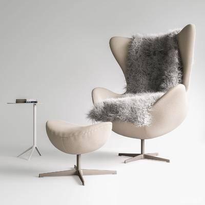 现代, 休闲椅, 单体