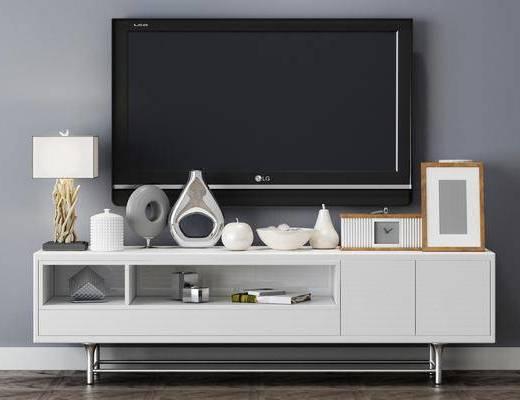 電視柜, 擺件組合, 置物架