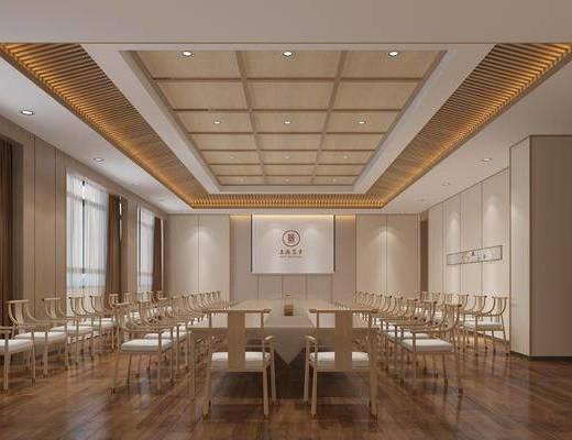 會議室, 新中式會議室