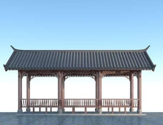 中式长廊, 长廊